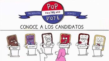 Pop-Tarts TV Spot, 'Pop the Vote: conoce a los candidatos' [Spanish] - 1289 commercial airings