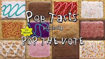 Pop-Tarts TV Spot, 'Pop the Vote: conoce a los candidatos' [Spanish] - Thumbnail 1