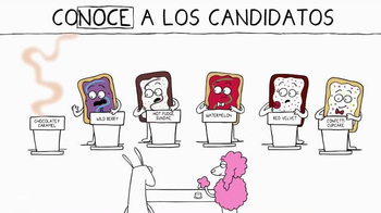 Pop-Tarts TV Spot, 'Pop the Vote: conoce a los candidatos' [Spanish] - Thumbnail 6