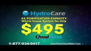 HydroCare Quadmaxx TV Spot, 'Chlorine in the Water' - Thumbnail 8