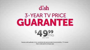 Dish Network Three-Year TV Price Guarantee TV Spot, 'Swipe Now' - Thumbnail 5