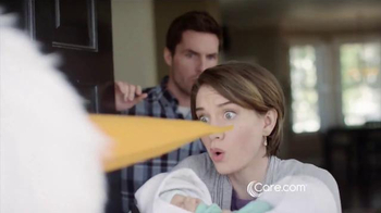 Care.com TV Spot, 'Stork Delivery' - Thumbnail 3