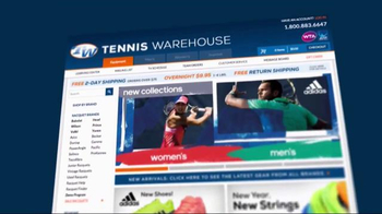 Tennis Warehouse TV Spot, 'Adidas Athletes' - Thumbnail 2