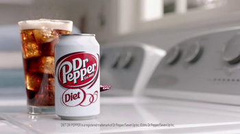 Diet Dr Pepper TV Spot, 'Lil' Sweet: Laundry' Featuring Justin Guarini - Thumbnail 7