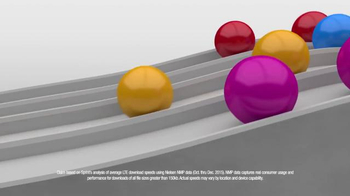 Sprint LTE Plus TV Spot, 'Faster Network at Half the Price: Colorful Balls' - Thumbnail 4