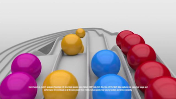 Sprint LTE Plus TV Spot, 'Faster Network at Half the Price: Colorful Balls' - Thumbnail 5