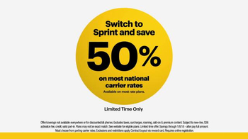 Sprint LTE Plus TV Spot, 'Faster Network at Half the Price: Colorful Balls' - Thumbnail 8