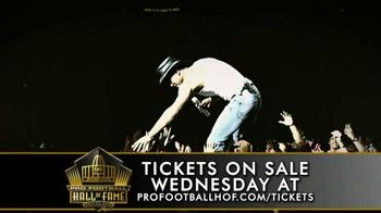 Pro Football Hall of Fame TV Spot, '2016 Concert for Legends' - 70 commercial airings