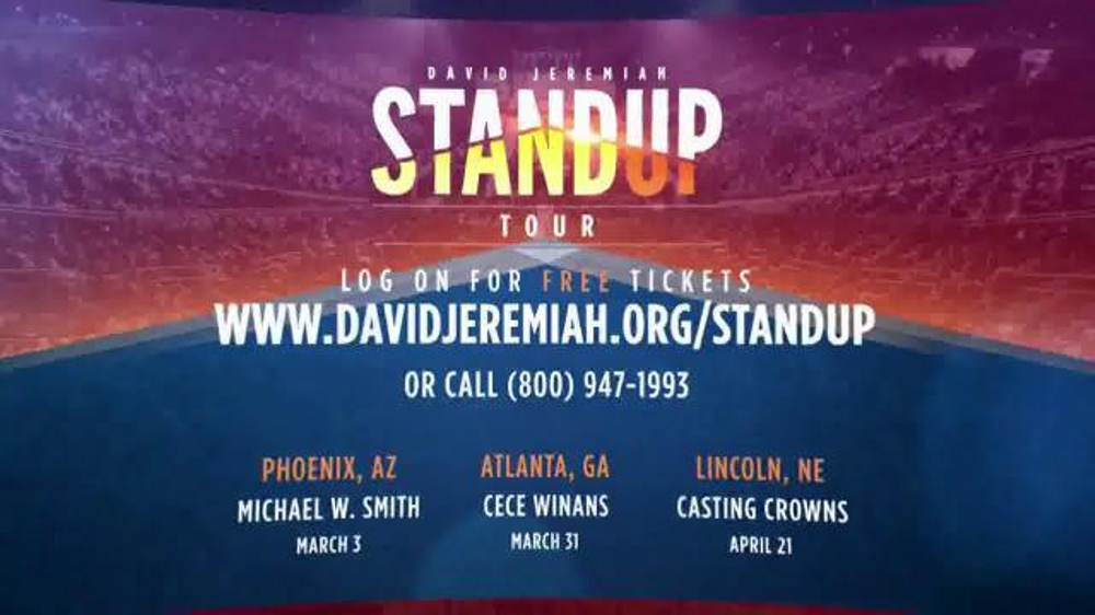 Turning Point with Dr. David Jeremiah TV Commercial, 'Standup Tour'