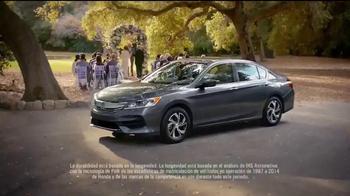 2016 Honda Accord LX TV Spot, 'Boda' [Spanish] - Thumbnail 8