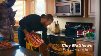 DiGiorno TV Spot, 'Phone Slap' Featuring Clay Matthews