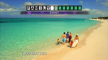 1-800 Beaches Family Week TV Spot, 'Wheel of Fortune' - Thumbnail 2