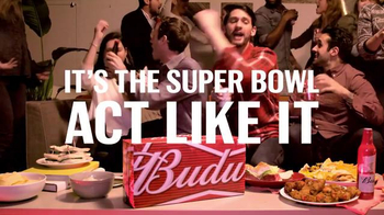 Budweiser Super Bowl 2016 Teaser, 'It's the Super Bowl, Act Like It: Party' - Thumbnail 7