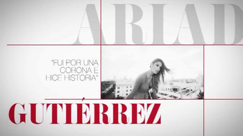 TVyNovelas TV Spot, 'Una corona' con Ariadna Gutiérrez [Spanish]