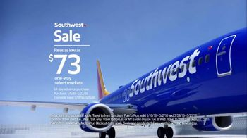Southwest Sale TV Spot, 'Scream at Your Television' - 5 commercial airings