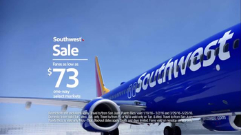 Southwest Sale TV Spot, 'Scream at Your Television' - Thumbnail 6