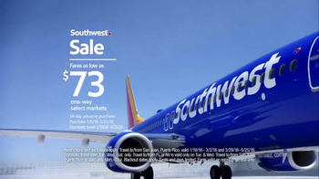 Southwest Sale TV Spot, 'Scream at Your Television' - Thumbnail 7