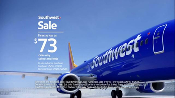 Southwest Sale TV Spot, 'Scream at Your Television' - Thumbnail 8