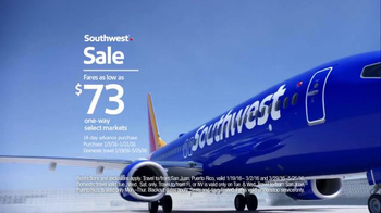 Southwest Sale TV Spot, 'Scream at Your Television' - Thumbnail 9