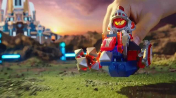 LEGO Nexo Knights TV Spot, 'Rumble Blade Vehicle vs. Beast Master Vehicle'