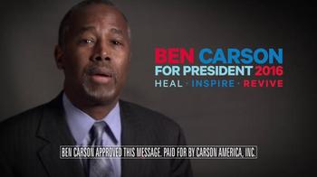 Carson America TV Spot, 'Winning, Not Whining' - Thumbnail 7