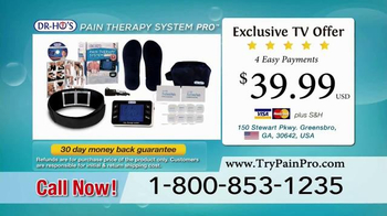 DR-HO's Pain Therapy System Pro TV Spot, 'Manage Your Pain' - Thumbnail 9