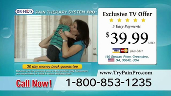 DR-HO's Pain Therapy System Pro TV Spot, 'Manage Your Pain' - Thumbnail 6