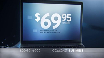 Comcast Business Switch & Save Event TV Spot, 'Faster Internet' - Thumbnail 3