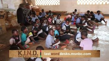 UNICEF K.I.N.D. Project TV Spot, 'Thank You From MSNBC' - 64 commercial airings