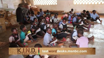 UNICEF K.I.N.D. Project TV Spot, 'Thank You From MSNBC'