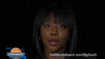 Visit Myrtle Beach TV Spot, '2015 Big South Conference Championships' - Thumbnail 1