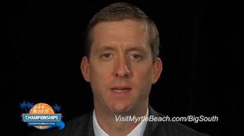 Visit Myrtle Beach TV Spot, '2015 Big South Conference Championships' - Thumbnail 5