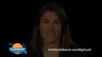 Visit Myrtle Beach TV Spot, '2015 Big South Conference Championships' - Thumbnail 2