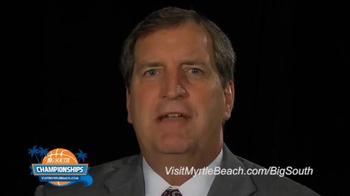 Visit Myrtle Beach TV Spot, '2015 Big South Conference Championships' - Thumbnail 4