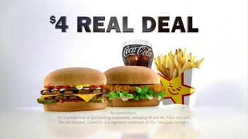 Carl's Jr. $4 Real Deal TV Spot, 'The Heavyweight' Feat. Evander Holyfield - Thumbnail 9