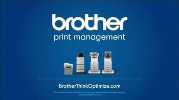 Brother Office TV Spot, 'Keep Workflow Flowing' - Thumbnail 9