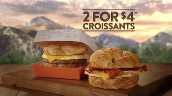 Jack in the Box Breakfast Croissant TV Spot, 'Bear Attack' - Thumbnail 9