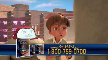 CBN Superbook DVD Club TV Spot, 'Samuel and The Call of God' - Thumbnail 8