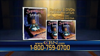 CBN Superbook DVD Club TV Spot, 'Samuel and The Call of God' - Thumbnail 4