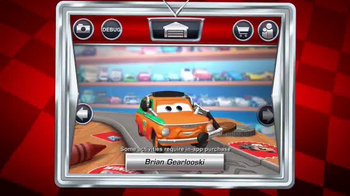 Cars Daredevil Garage App TV Spot, 'Crank up the Speed' - Thumbnail 8