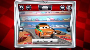 Cars Daredevil Garage App TV Spot, 'Crank up the Speed'