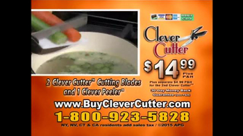 Clever Cutter TV Spot, 'Knife & Cutting Board in One' - Thumbnail 6