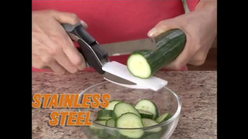Clever Cutter TV Spot, 'Knife & Cutting Board in One' - Thumbnail 1