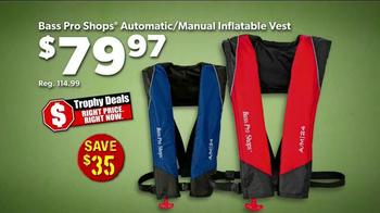 Bass Pro Shops Trophy Deals TV Spot, 'Inflatable Vests' - Thumbnail 6