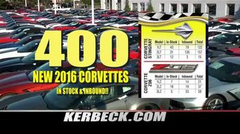 Kerbeck Corvette TV Spot, '400 New Corvettes' - Thumbnail 2