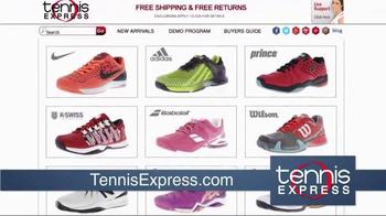 Tennis Express TV Spot, 'New January Top Tennis Shoes' - Thumbnail 5