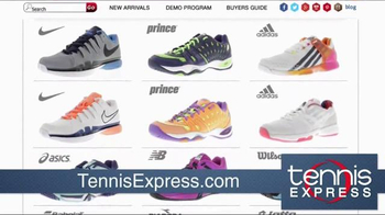 Tennis Express TV Spot, 'You Name It We Got It' - Thumbnail 1