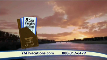 YMT Vacations River Cruise TV Spot, 'France, Germany or Austria' - Thumbnail 6