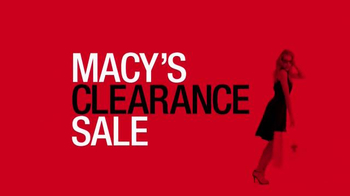 Macy's Clearance Sale TV Spot, 'Stock Up With Savings' - Thumbnail 1
