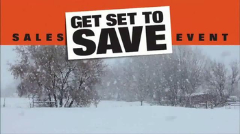 Kubota Get Set to Save Sales Event TV Spot, 'Tractors and Snow Equipment' - Thumbnail 1